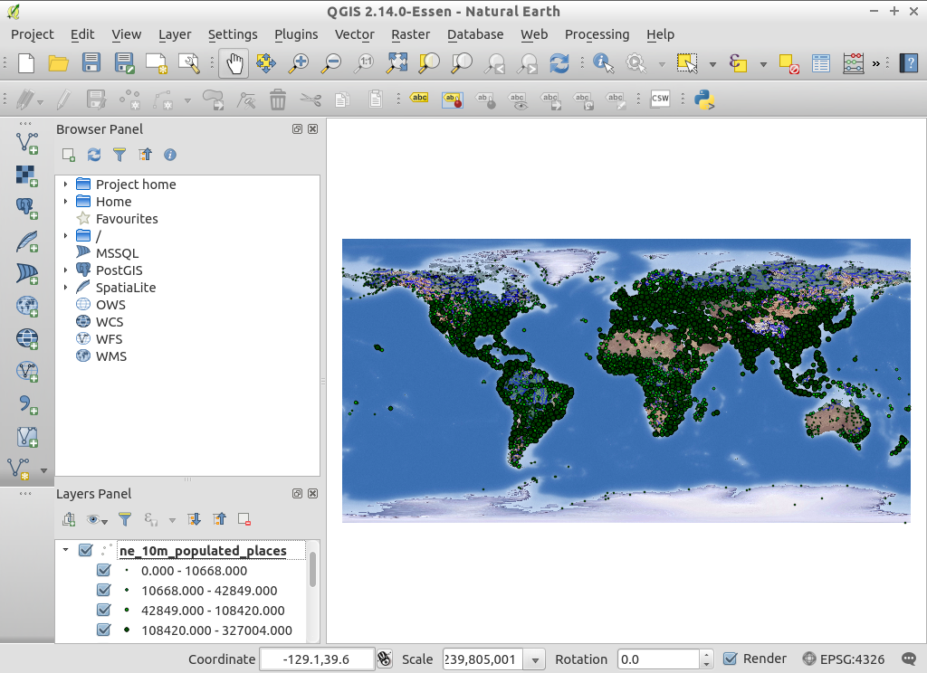 QGIS Quickstart — OSGeo-Live 10 5 Documentation
